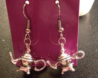 Tea Pot Earrings Handmade earrings