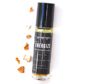 Energize- all natural roll-on essential oil perfume