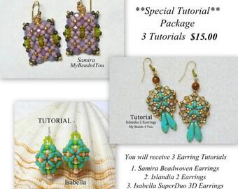 DIY Beading Tutorial, Beading Pattern, Jewelry Tutorial,Beading Instructions,Seed Bead Tutorial, Superduo Tutorial, Bead Pattern,MyBeads4You