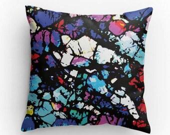 Shattered, Abstract Art Pillow