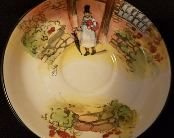 Royal Doulton Gapper Saucer 1930s