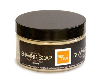 Vegan Shaving Soap Great For Traveling, Mens Shave Soap For Sensitive Skin