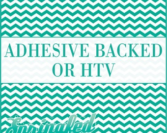 Turquoise & White Chevron Stripes Pattern #1 Adhesive or HTV Heat Transfer Vinyl for Shirts Crafts and More!