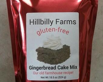 Gluten Free Gingerbread Cake Mix