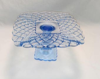 LE Smith Rose and Trellis Cake Stand