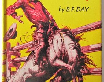 Gene Rhodes, Cowboy - Vintage 1954 Hardcover Book