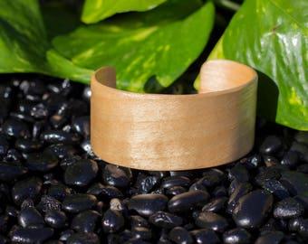 Maple Wood Cuff Bracelet