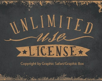 UNLIMITED LICENSE for unlimitedly commercial use.