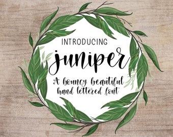 Juniper Font