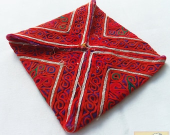 Afghanistan: Vintage Embroidered Pashtun Wallet or Pouch, Item E56