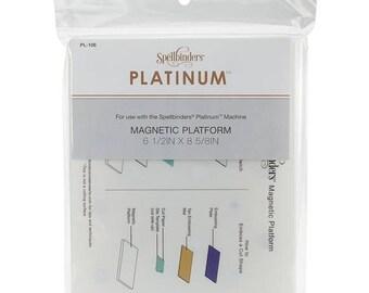 Mothers Day Special: Spellbinders Platinum Magnetic Platform Standard 8 5/8 x 6 1/2 x 5/8 inch