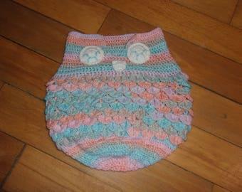 Bunting pattern baby OWL / OWL