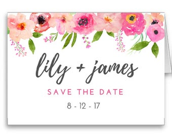 Save the Dates - Printable Download