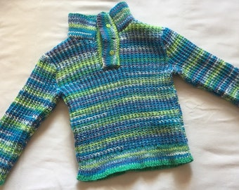 Colorful kids sweater size 4t
