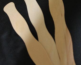 Wooden Fan Handles (25/set) | Fan Handles | Wedding Fan