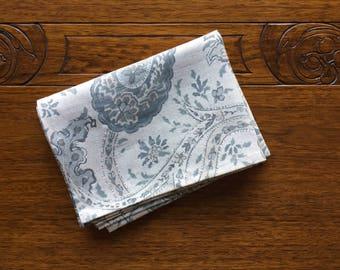 Blue Paisley Kitchen Towel