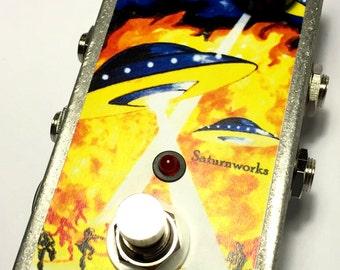 Saturnworks True Bypass Feedback Looper Loop Guitar Pedal