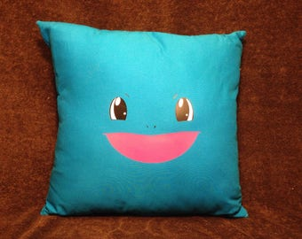 16' Pokemon Minimalistic Squirtle Pillow