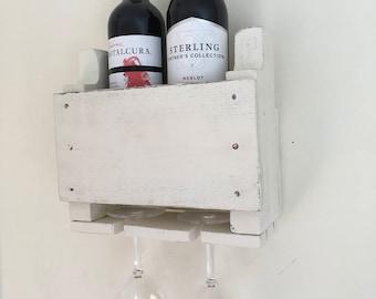 Wine Rack, Pallet Wine Rack