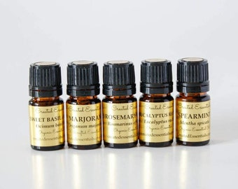 Essential Oils Collection: Herbal Love