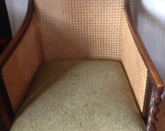 Caned Bergere chair