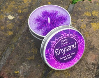 Rhysand | 4.5oz tin | A Court of Thorns and Roses Scented Soy Candle