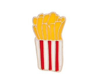 French fries badges