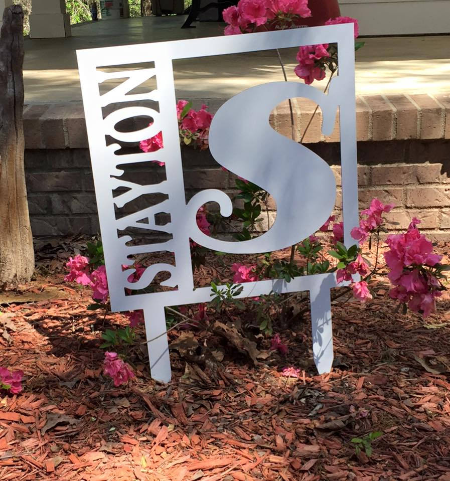 Personalized Monogram door hanger monogram door sign wedding
