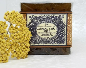 Oatmeal Stout Soap - Moisturizing & Exfoliating - Smells Divine!