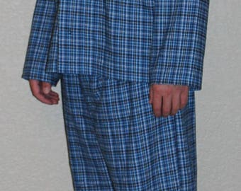 Men's Custom Pajamas / Pyjamas Set / Custom Men's Clothing / Men's Lounge Wear