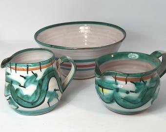 Vintage Tintagel Dragon Pottery