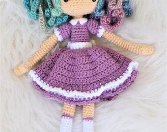 Amigurumi Cat Doll : Jinx the cat crochet doll pattern amigurumi photo tutorial