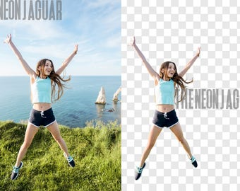 Professional Background removal for Portrait
