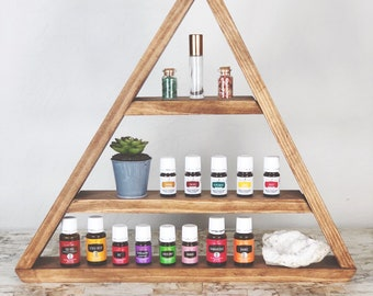 Triangle Essential Oil Shelf