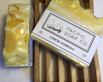 Lemon Verbena/ Handmade/ Cold Processed Soap/ Pacific Soap Co