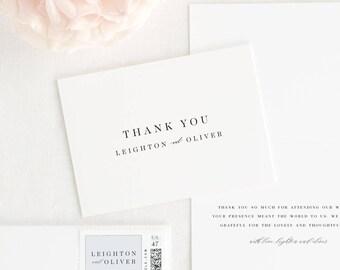 Leighton Thank You Cards