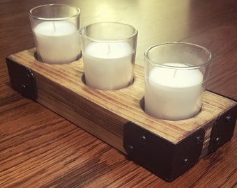 3 Votive Candle Holder