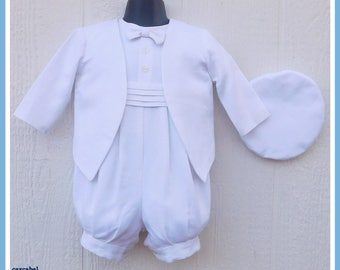 Boys Baptism Outfit, Christening Outfit Boy, CLEARANCE ITEM
