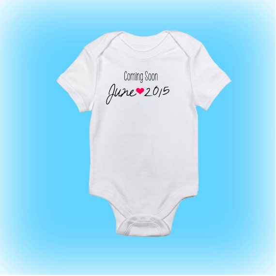 Personalized baby onesie pregnancy reveal gift pregnancy like this item negle Gallery