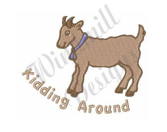 Goat Kid - Machine Embroidery Design