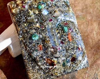 Buddha Orgone Healing Crystal Art Meditation Altar Reiki Love