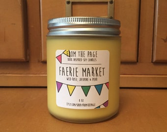 Faerie Market Soy Candle - 8 oz *Candle of the Month*