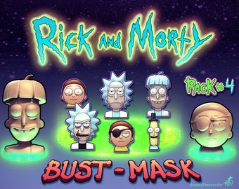 Rick and Morty 3dprint pack4