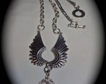 Falcon Fanfare- A Steampunk Comic Book Necklace