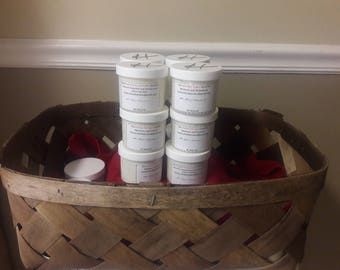 All Natural Body Butter (Made for Eczema, Dry skin, Shaving Cream, and a Massage Cream)