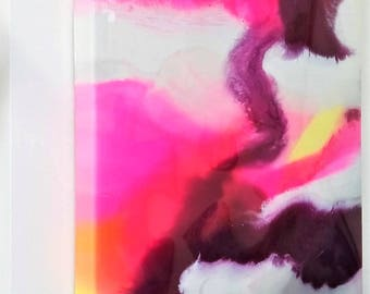 Resin Art: 'Pink/Purple Quartz'