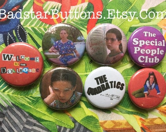 Welcome to The Dollhouse Pin Button Set