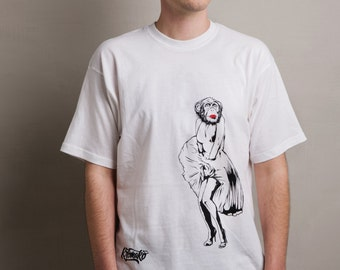 MARILYN Kromakò Handmade Silkscreen t-shirts