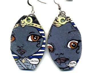 Mummy Queen Blythe earrings