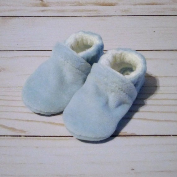 Baby Blue: Soft Sole Baby Shoes 0-3M